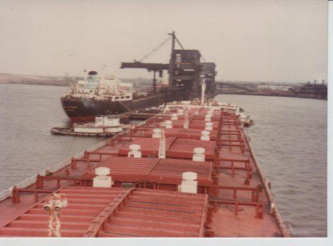 Marqués de Bolarque en Norfolk 1981